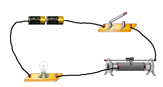 电学实验实物图片
